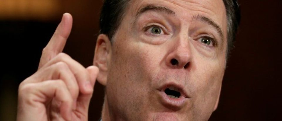 FBI Director Comey testifies on Capitol Hill in Washington