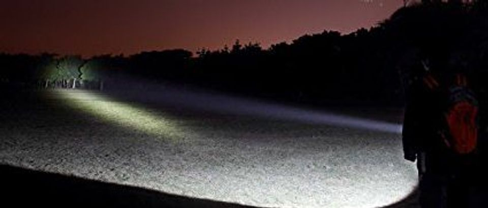 This flashlight has 5 mode choices (Photo via Amazon)