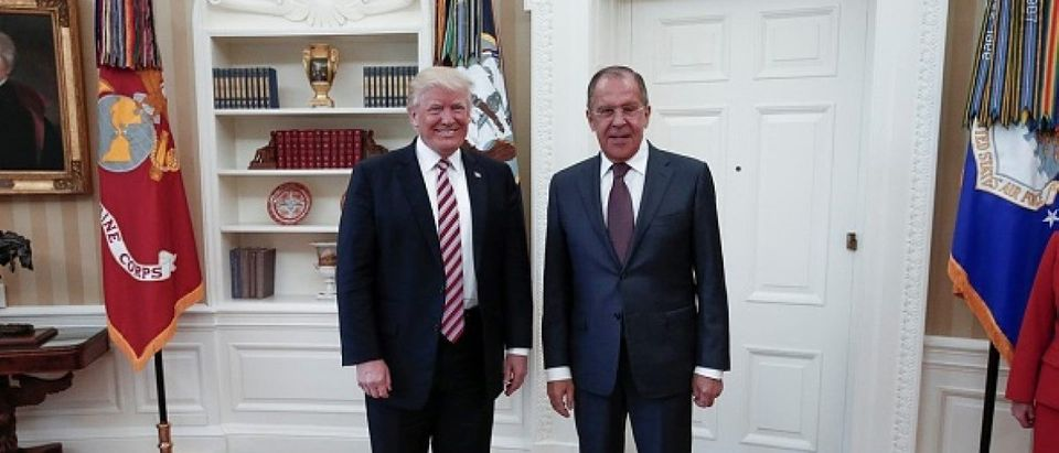 Russian FM Lavrov in Washington