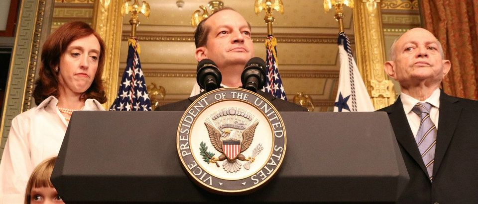 U.S. Department of Labor Secretary Alexander Acosta: Ted Goodman/TheDCNF