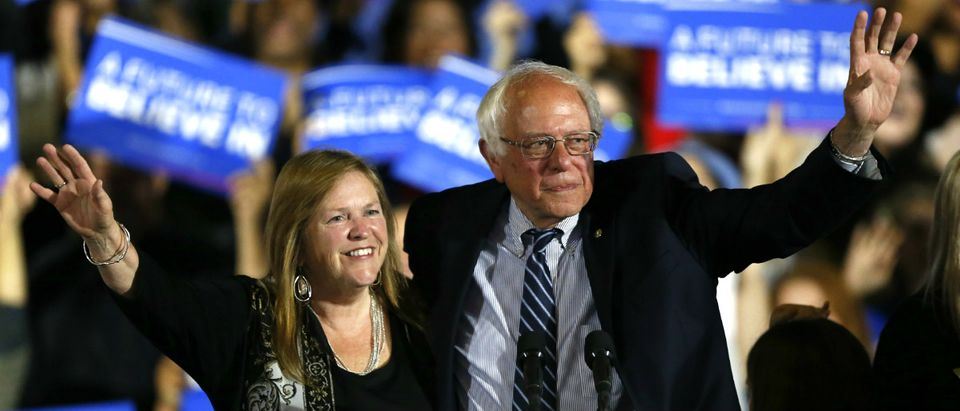 Bernie Sanders and Jane Sanders Reuters/Mario Anzuoni