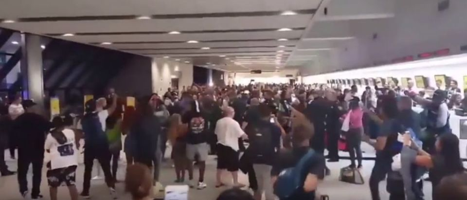 Travelers brawl inside Ft. Lauderdale airport