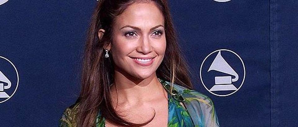Singer/actress Jennifer Lopez poses for photograp