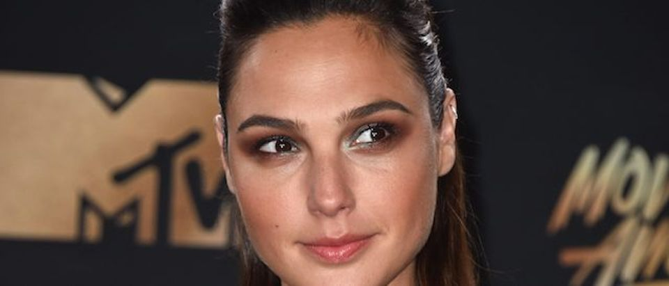 Actor Gal Gadot attends the 2017 MTV Movie And TV Awards at The Shrine Auditorium on May 7, 2017 in Los Angeles. (Photo by Alberto E. Rodriguez/Getty Images)