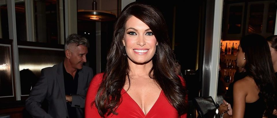 "Kimberly Guilfoyle attends the ""Fury"" New York premiere at DGA Theater on October 14, 2014 in New York City. (Photo by Mike Coppola/Getty Images)"