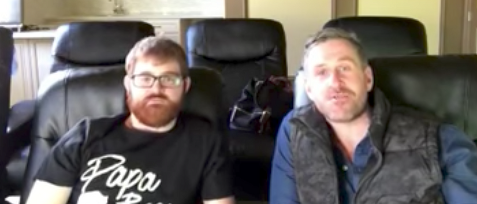 Chuck Johnson and Mike Cernovich (Youtube screenshot/ OpenMind)