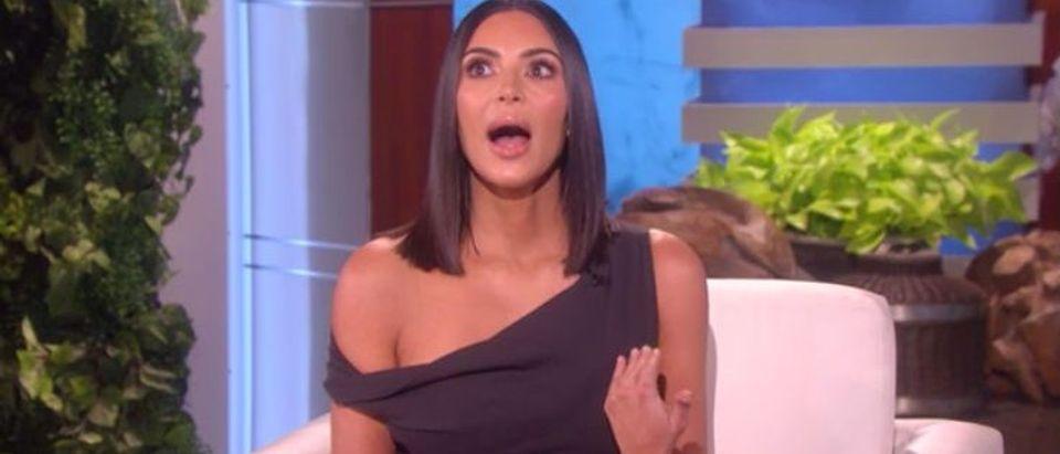 Kim Kardashian (Photo: Ellen screen grab)