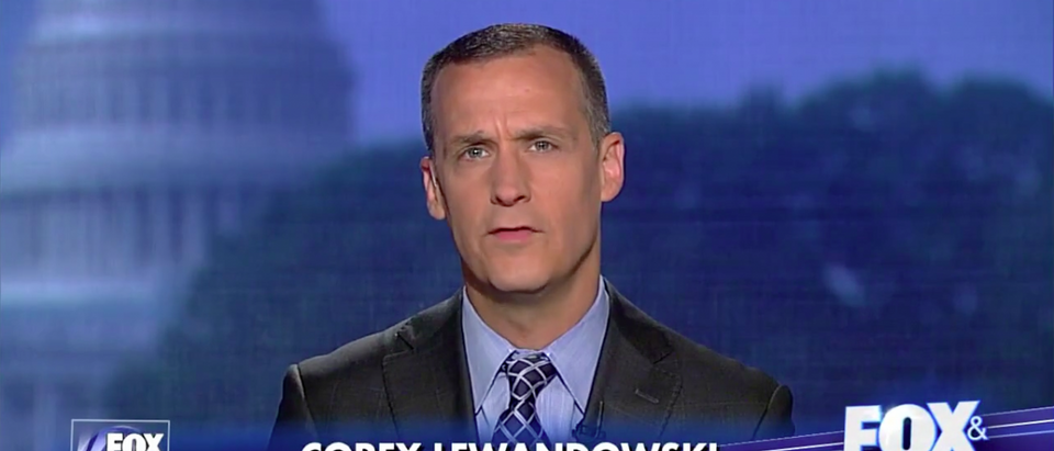 Screen Shot Corey Lewandowski on Fox and Friends (May 31, 2017)