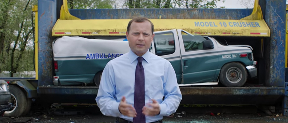 Perriello Ambulance Ad