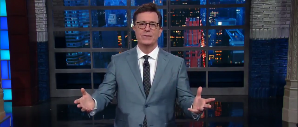 Colbert beat Trump