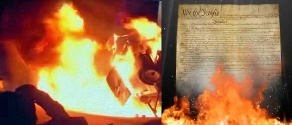 YouTube screenshot/ABC News, YouTube screenshot/FX Riot