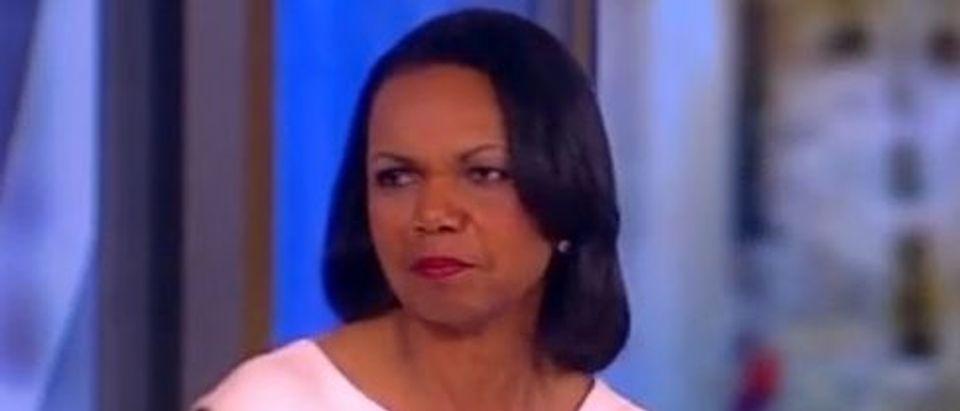 Condoleezza Rice on ABC's The View