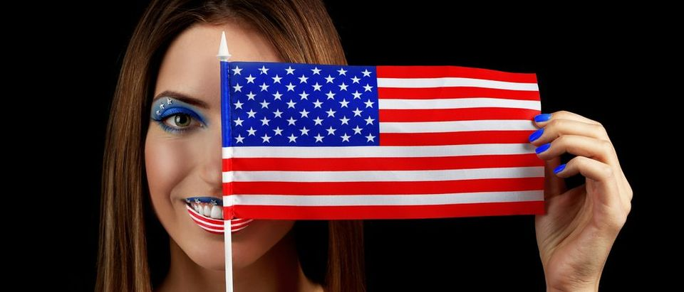 True patriots wear American (Photo via Shutterstock)
