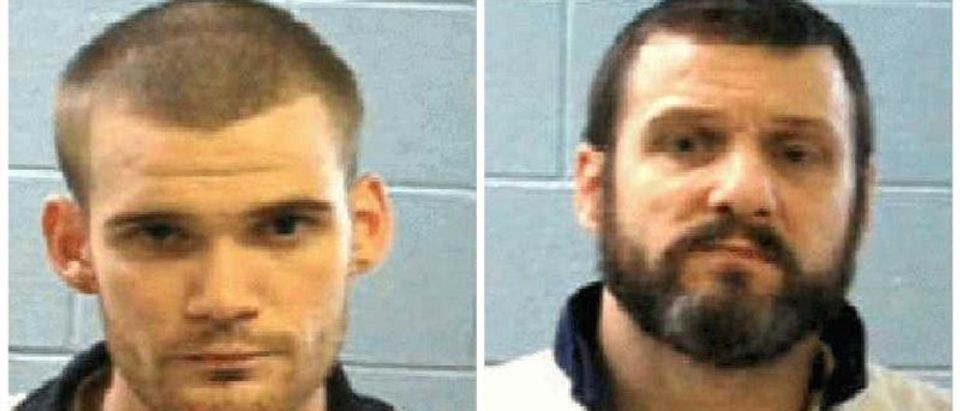 Georgia Corrections photos of two escaped inmates Ricky Dubose and Donnie Russell Rowe