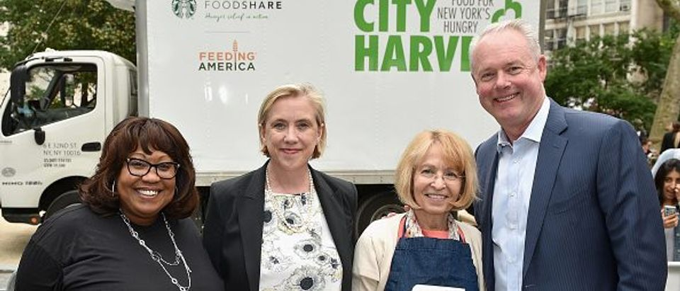 Starbucks Foodshare Launch in New York