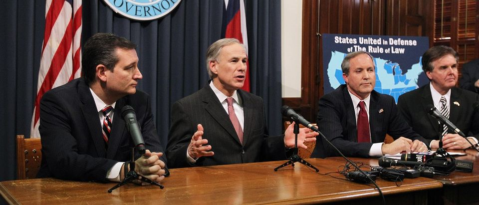 Texas Gov. Abbott, Attorney Gen. Paxton And Sen. Ted Cruz Address TX Federal Ruling Delaying Obama's Executive Action On Immigration