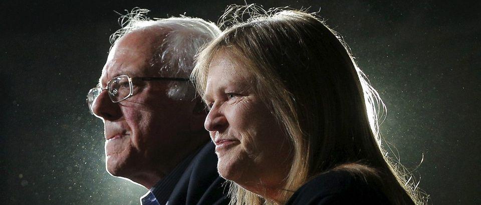 Sen. Bernie Sanders and Jane O'Meara Sanders