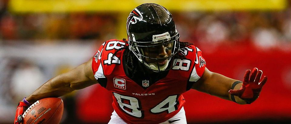 NFL WR Roddy White #84 of the Atlanta Falcons (Photo by Kevin C. Cox/Getty Images)
