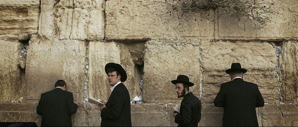Prayers Held Before Sabbath In Jerusalem