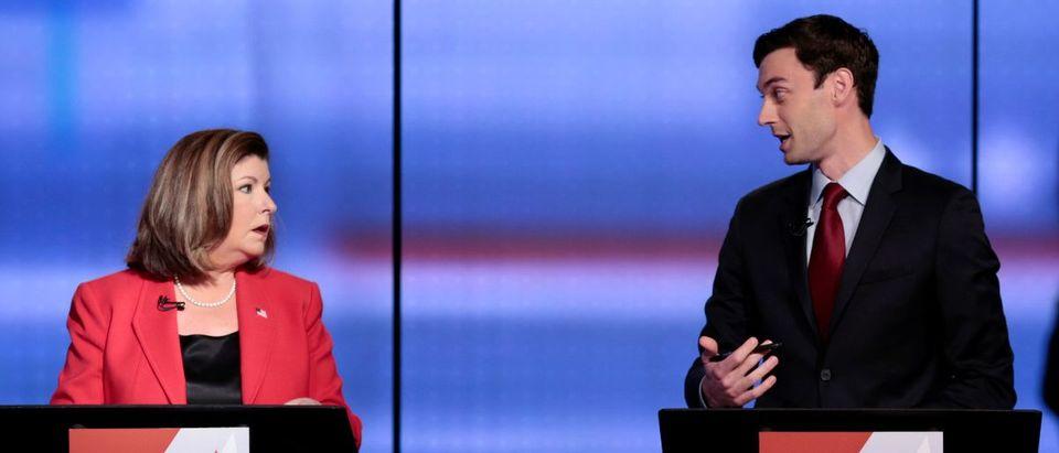 Republican Karen Handel and Democrat Jon Ossoff