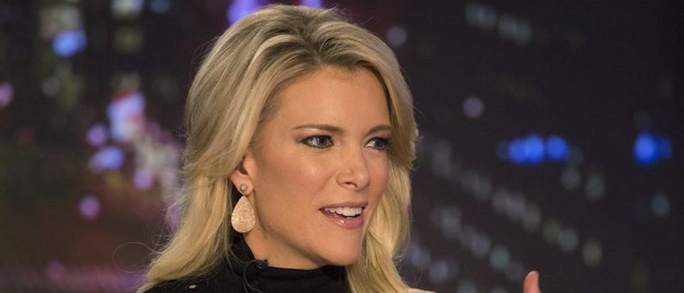 Host Megyn Kelly prepares for her Fox News Channel show 'The Kelly File' in New York