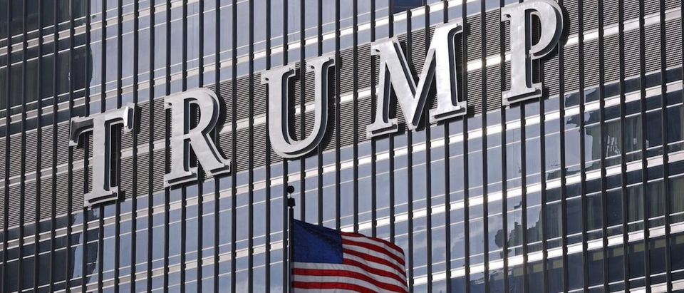 The Trump International Hotel and Tower is seen in Chicago
