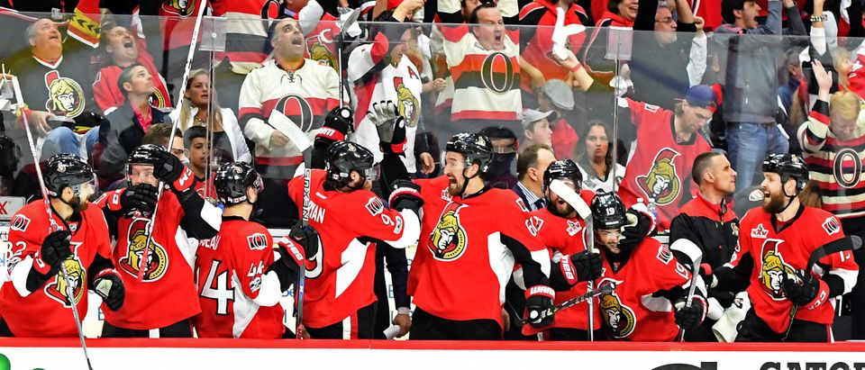 NHL: Stanley Cup Playoffs-Pittsburgh Penguins at Ottawa Senators