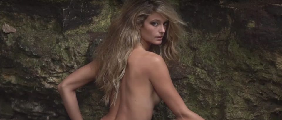 Kate Bock (Credit: Screenshot/YouTube Sports Illustrated Swimsuit)