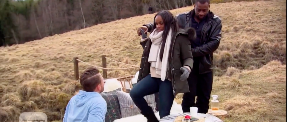 'The Bachelorette': Two Frontrunners Emerge for Rachel Lindsay (Entertainment Tonight/YouTube Screenshot)