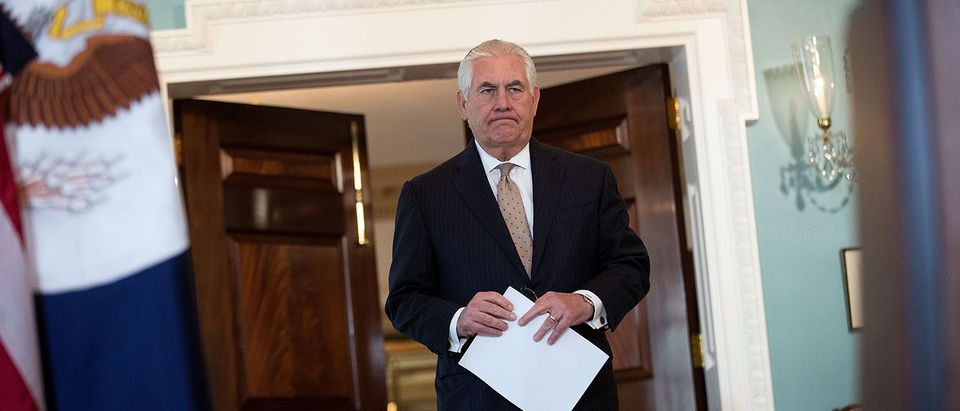 Secretary Of State Rex Tillerson Calls On Mideast Countries To Ease Blockade On Qatar