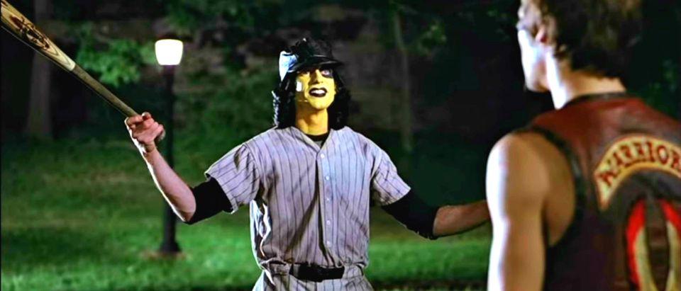 Warriors Baseball Furies YouTube screenshot Movieclips