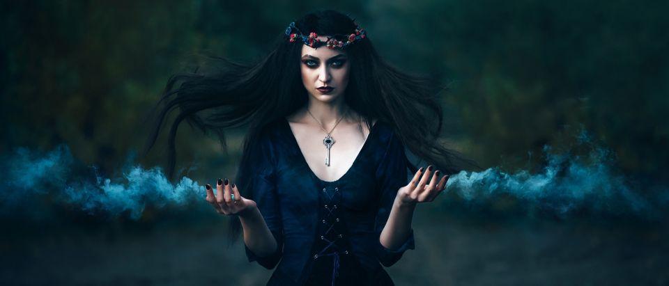 A witch (Shutterstock/ Irina Alexandrovna)