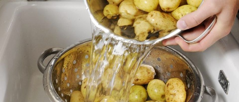 This is a stock photo of colanders (Photo via Shutterstock)