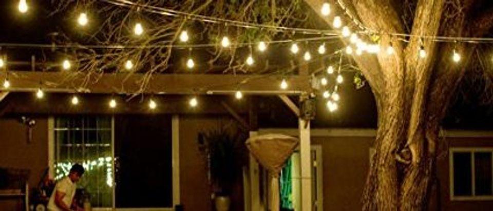 These lights are weatherproof (Photo via Amazon)