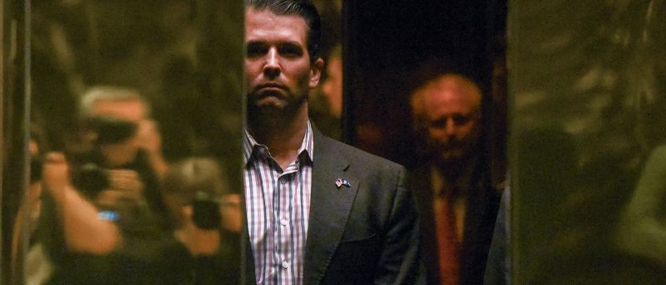 FILE PHOTO - Donald Trump Jr. arrives at Trump Tower in New York City