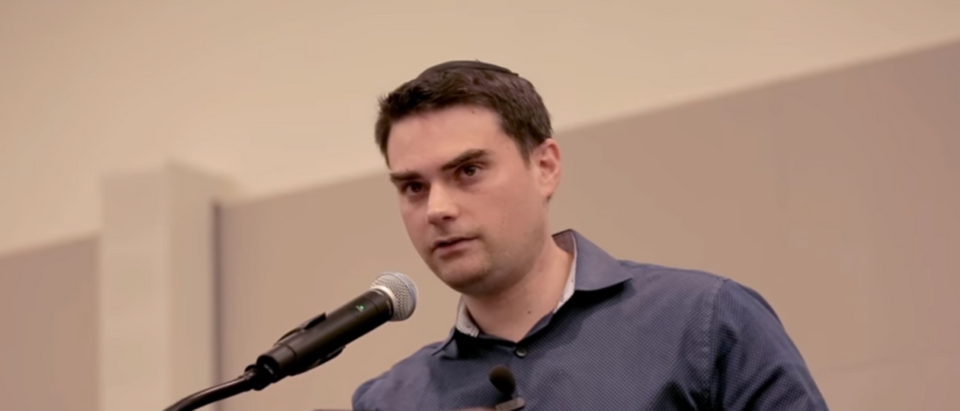A University of California, Merced professor declined to debate conservative author Ben Shapiro, but offered to fight him, according to audio released Wednesday. (Photo Credit: YouTube/The Daily Wire)
