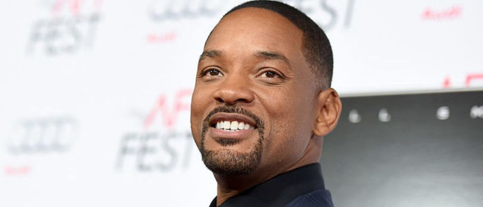 "Actor Will Smith attends the Centerpiece Gala Premiere of Columbia Pictures' ""Concussion"" during AFI FEST 2015 presented by Audi at TCL Chinese Theatre on November 10, 2015 in Hollywood, California. (Photo by Kevin Winter/Getty Images for AFI)"