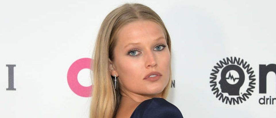 Model Toni Garrn attends the 25th Annual Elton John AIDS Foundation's Academy Awards Viewing Party with cocktails by Clase Azul Tequila and Chopin Vodka at The City of West Hollywood Park on February 26, 2017 in West Hollywood, California. (Photo by Charley Gallay/Getty Images for Clase Azul Tequila and Chopin Vodka)