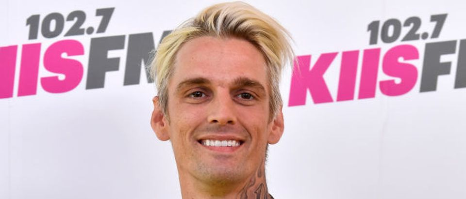 Aaron Carter arrives at the 102.7 KIIS FM's 2017 Wango Tango at StubHub Center on May 13, 2017 in Carson, California. (Photo by Frazer Harrison/Getty Images)