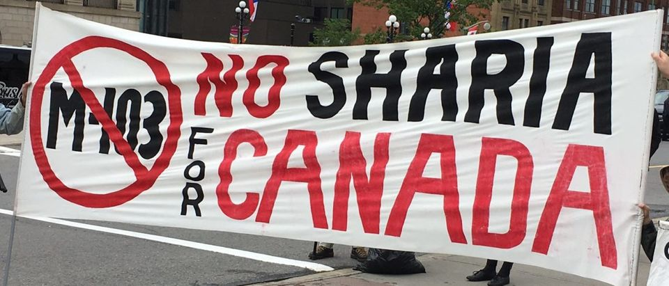 No Sharia Law For Canada
