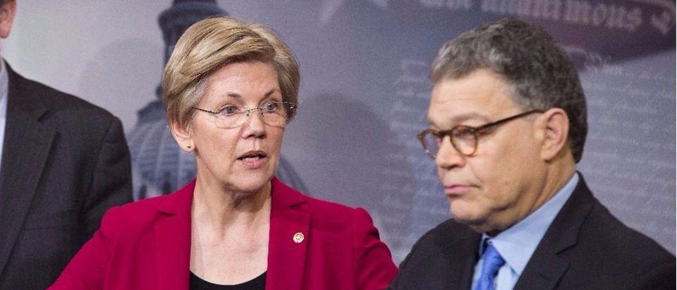 Sen. Warren and Sen. Franken