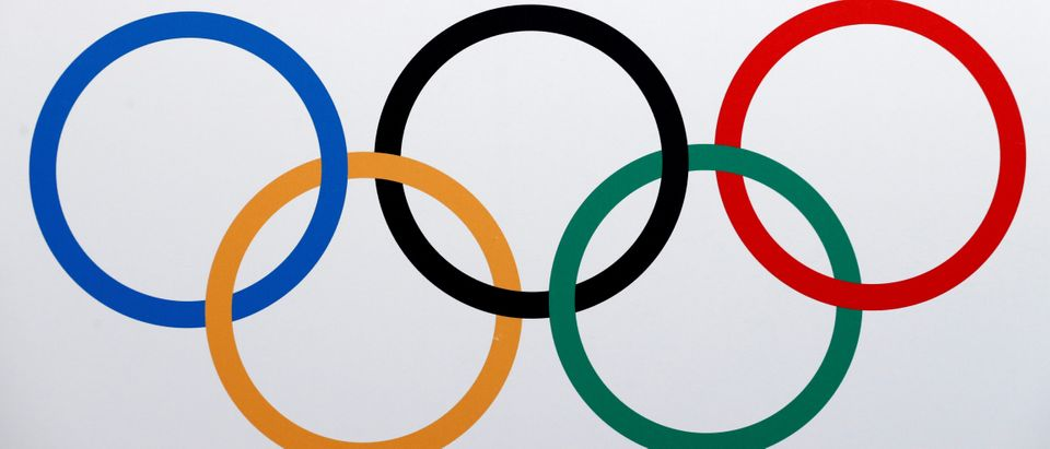 The Olympics rings logo is pictured in Lausanne, Switzerland, June 21, 2016. REUTERS/Denis Balibouse
