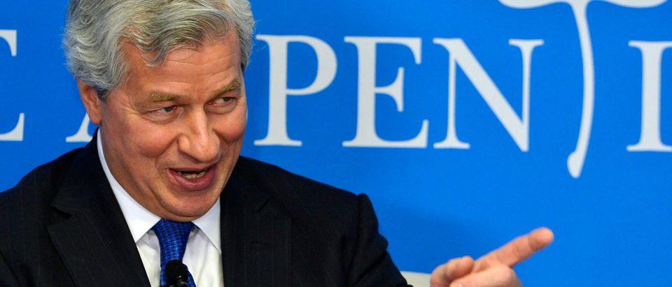"JPMorgan Chairman and CEO Jamie Dimon speaks at the Aspen Institute's ""Closing the Workforce Skills Gap"" seminar"