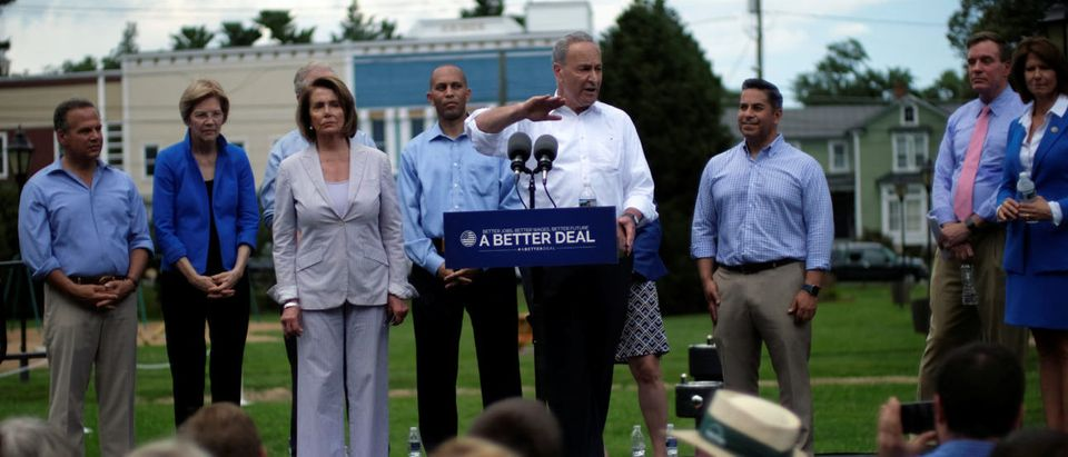 "Democrats unveil the Democratic party's ""A Better Deal"" for working Americans in Berryville"