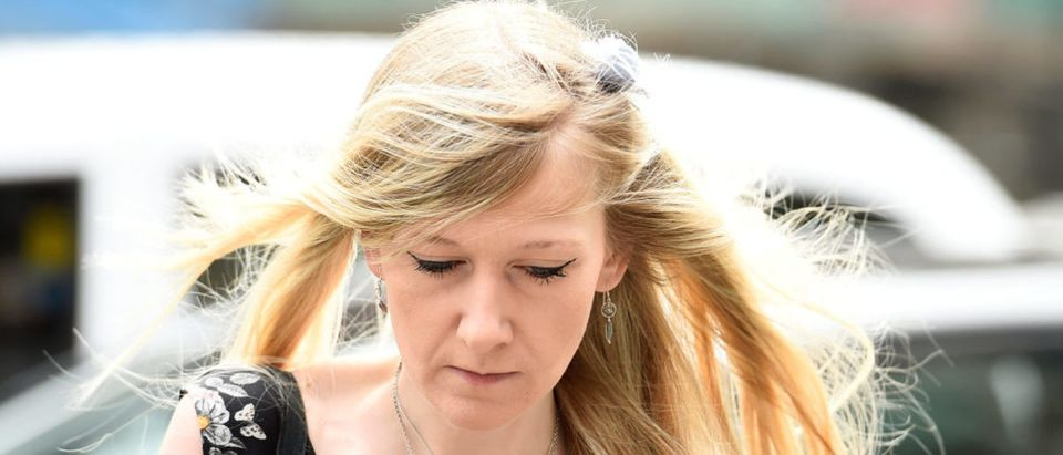 Charlie Gard's mother Connie Yates arrives at the High Court for a hearing on her son's end of life care, in London