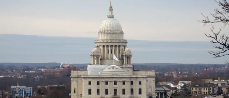 The Rhode Island state house in Providence. (YouTube screenshot/VisitorsTVNortheast)