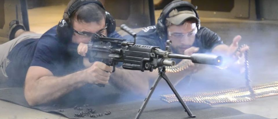 M249 SAW (Credit: Screenshot/YouTube West Coast Armory)