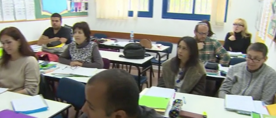 French Jews In Israel (CNN Screen Shot)