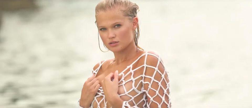 Vita Sidorkina (Credit: Screenshot/YouTube Sports Illustrated Swimsuit)