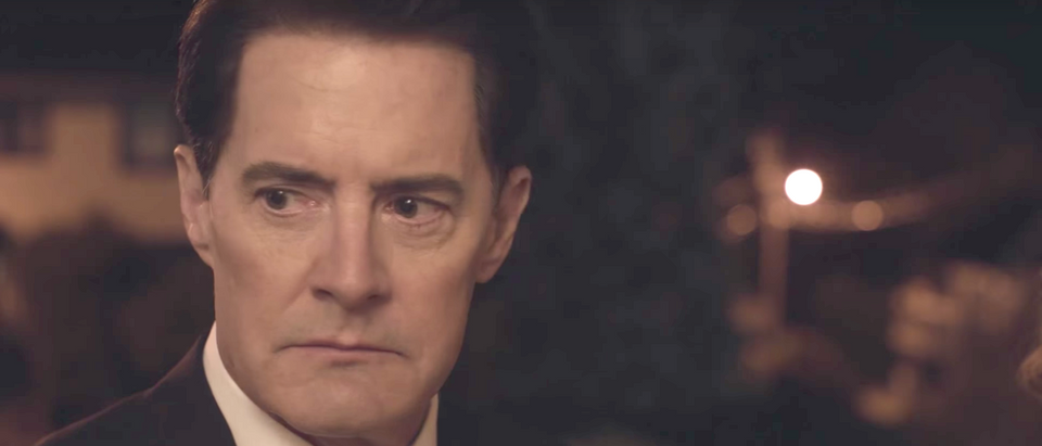 Kyle McLachlan as Special Agent Dale Cooper in David Lynch's Twin Peaks (Image: YouTube screengrab/Twin Peaks)